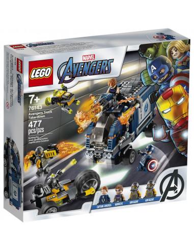76143 Camion De Los Avengers