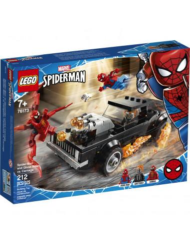 76173 Spiderman Y El Motorista...