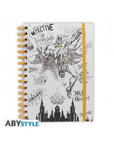 DC COMICS - NOTEBOOK GRAPHIC BATMAN