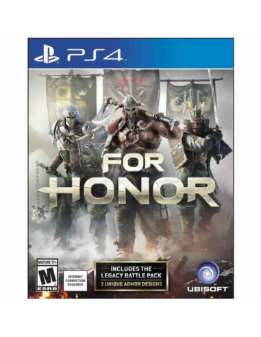 FOR HONOR STANDARD EDITION SPANISH  PS4
