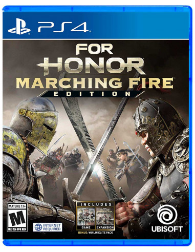 FOR HONOR MARCHING FIRE EDITION...