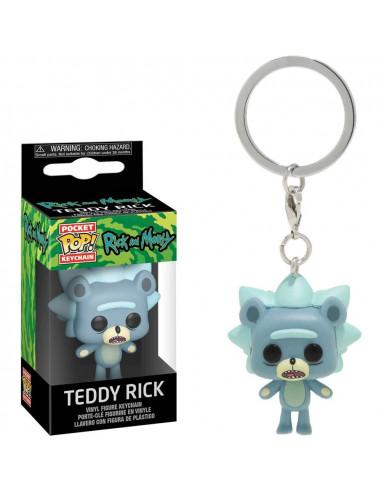 POP KEYCHAIN RICK N MORTY TEDDY RICK